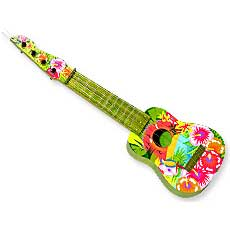 Painted Tropical Ukulele