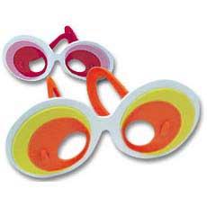 Crazy Foam Glasses