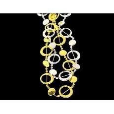 Retro Circle Necklace