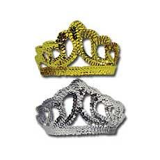 Gold/Silver Sequin Tiara