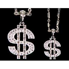 Jeweled Dollar Bling