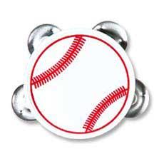 Baseball Tambourines