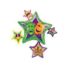 Masquerade Star Balloon