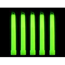 "6"" Green Lightsticks 12"