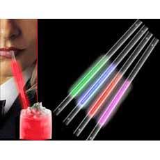 Red Glow Straws