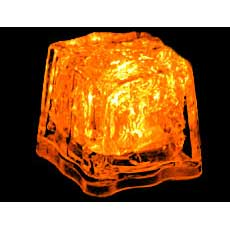 Orange Light Cubes