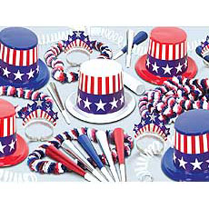 American Patriotic Kit for 25