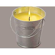 "Scented Citronella Candle 4"""