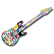Groovy Guitar Inflatable