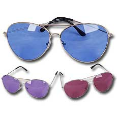 Colored Aviator Glasses