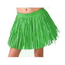 Green Mini Hula Skirt