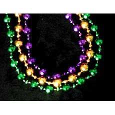 """48"""" Mardi Gras Beads"""