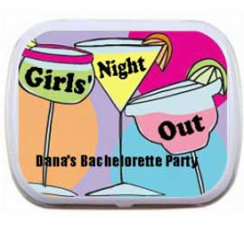 Mint Tin, Bachelorette Party Drinks