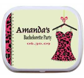 Mint Tin, Lingerie Theme Bachelorette Party