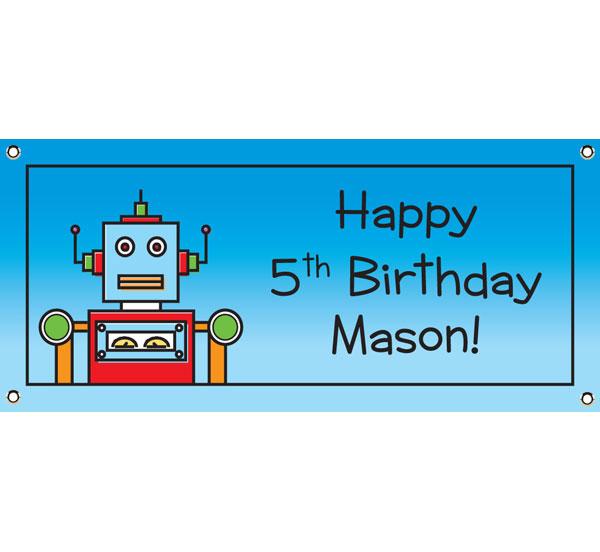 Robot Theme Banner
