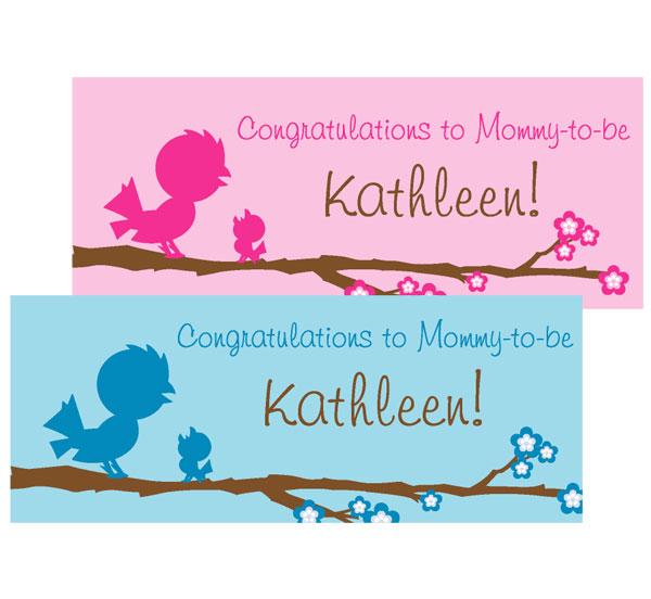 Baby Bird Theme Banner