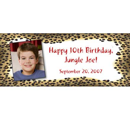 Jungle Theme Photo Banner