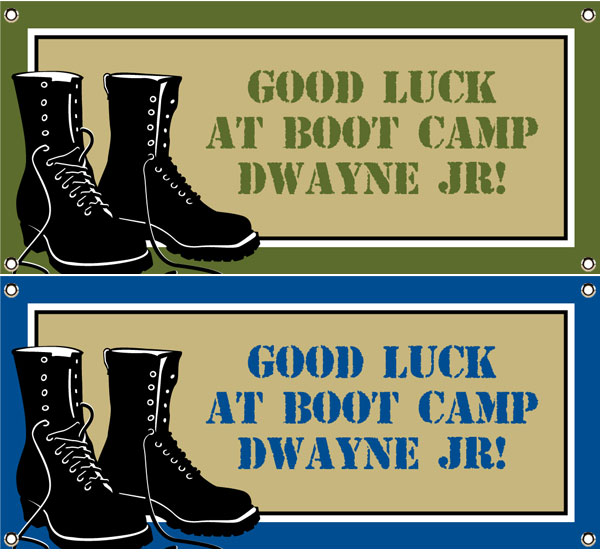 Boot Camp Theme Banner