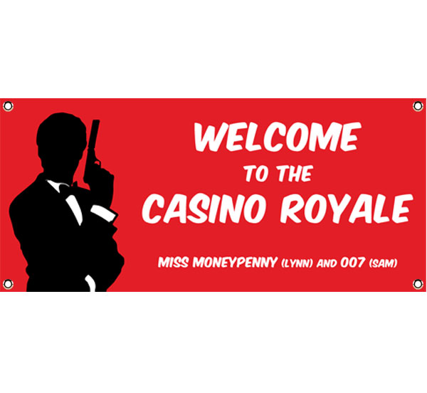 Casino Royale Theme Banner
