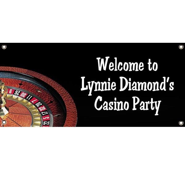 Casino Roulette Theme Banner