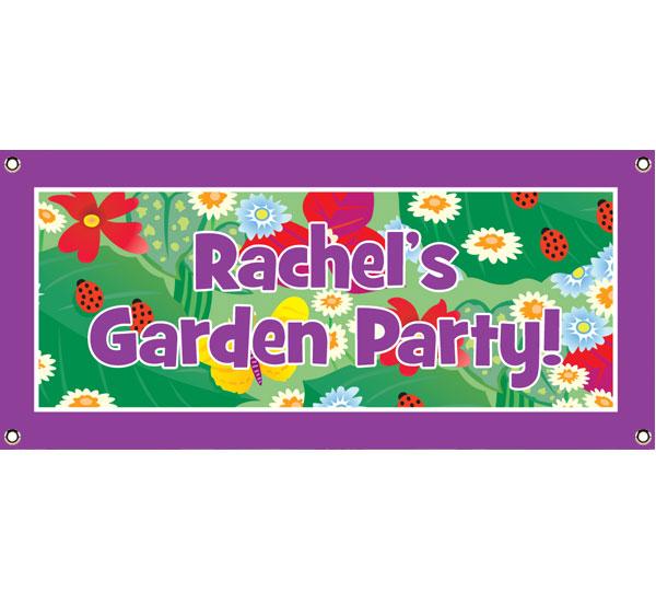 Garden Theme Banner
