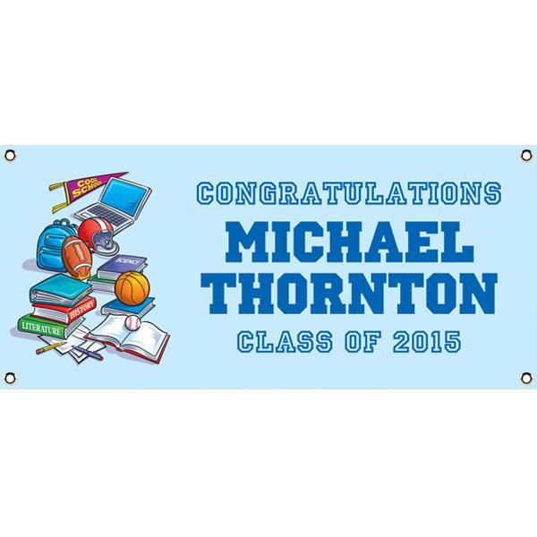 Graduation Sports Theme Banner
