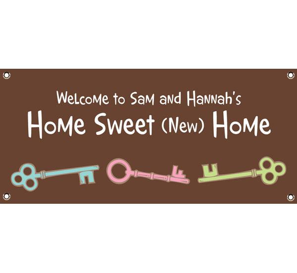Housewarming Party Theme Banner