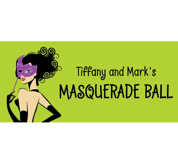 A Masquerade Voodoo Theme Banner