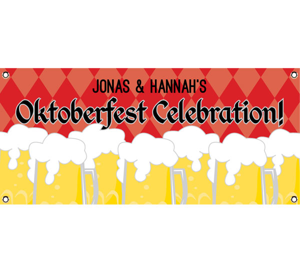 Oktoberfest Beer Theme Banner