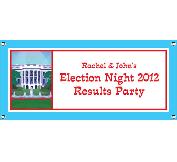 US Election Night Theme Banner