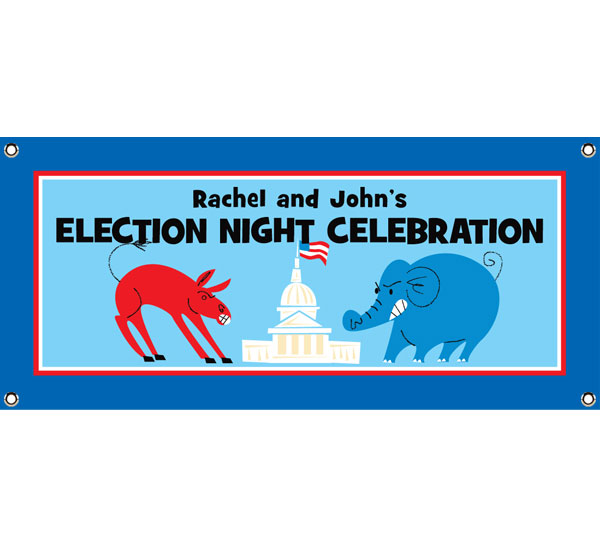 Patriotic Election Theme Banner