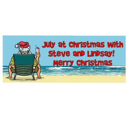 Christmas in July Theme Banner