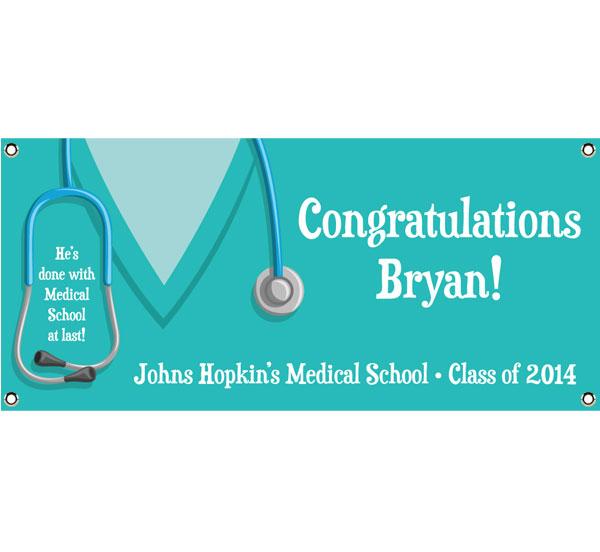 Graduation Scrubs Theme Banner