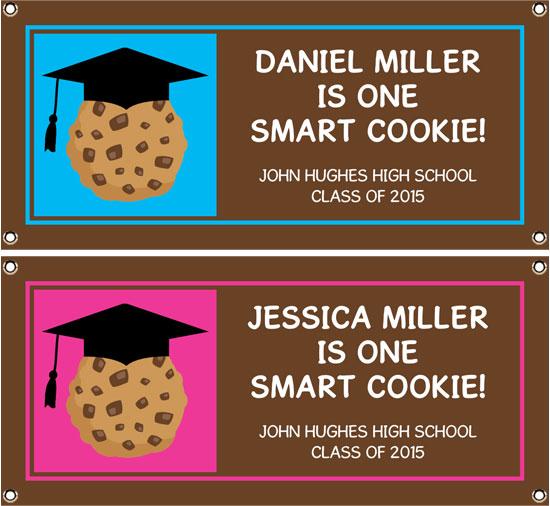 Graduation Smart Cookie Theme Banner