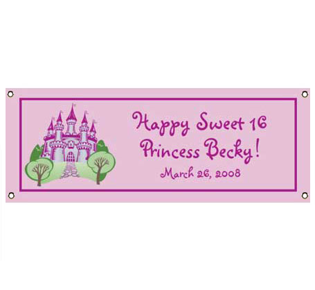Fairy Tale Princess Theme Banner