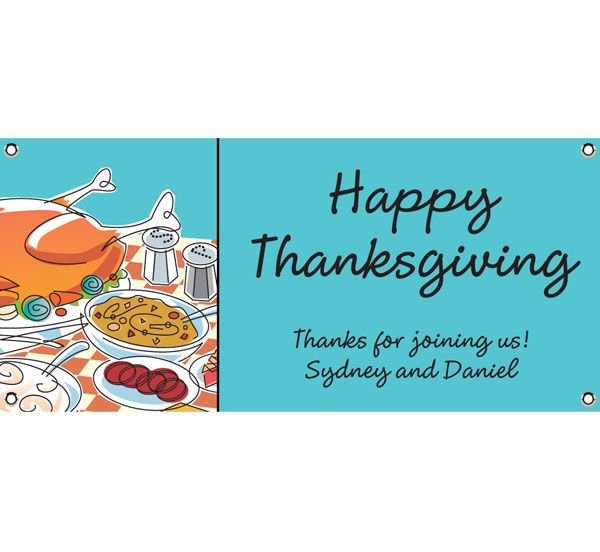 Thanksgiving Potluck Theme Banner
