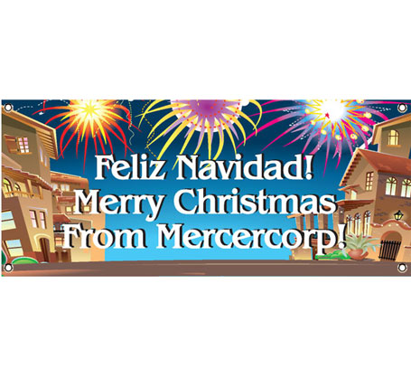 Fiesta Holiday Theme Banner