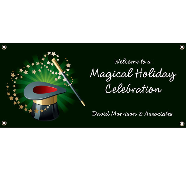 Holiday Magic Theme Banner