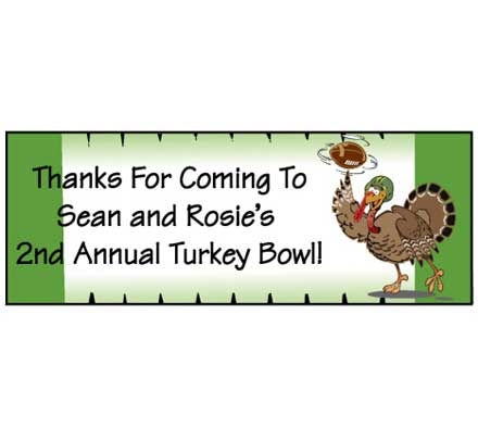Thanksgiving Turkeybowl Theme Banner