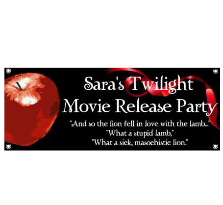 Twilight Theme Banner - Lion and the Lamb Quote
