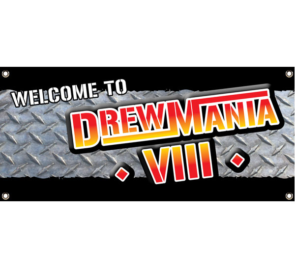 Wrestling Party Theme Banner