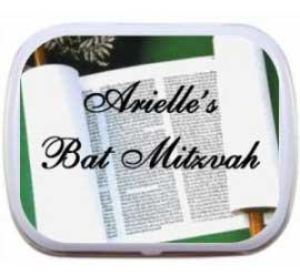 Bar or Bat Mitzvah Mint Tin