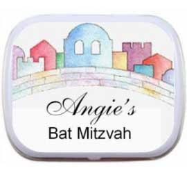 Bat Mitzvah Jerusalem Mint Tin