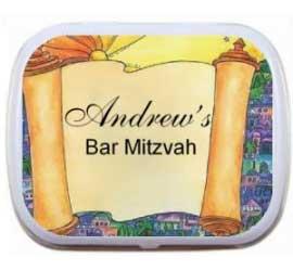 Bar Mitzvah Torah Mint Tin