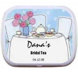 Mint Tin, Bridal Shower Tea Party