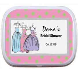 Mint Tin, Bridal Shower Dresses