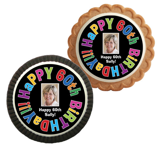 Birthday Celebration Party Theme Custom Cookie