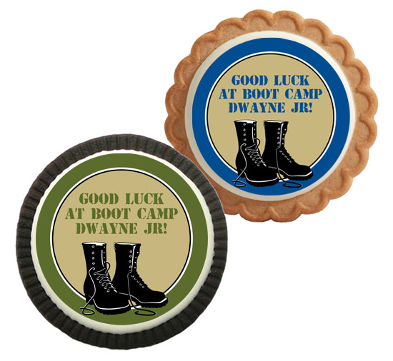 Boot Camp Theme Custom Cookie