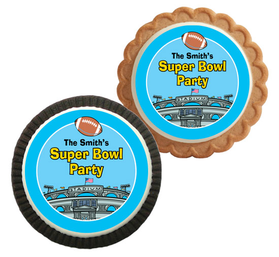 Football Stadium Theme Cookie