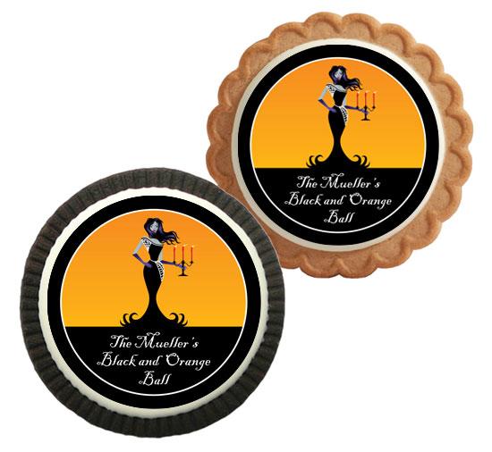 Halloween Ball Theme Custom Cookie